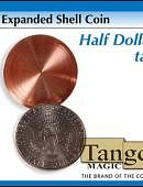 Expanded Shell - Half Dollar (Heads) Gimmicked coin