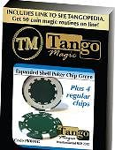 Expanded Shell - Poker Chip (Green w/ 4 Matching Chips) Gimmicked coin