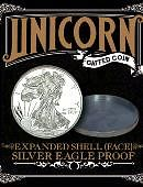 Expanded Shell - Silver Eagle Proof (Heads)