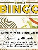Extra Cards for Miracle Bingo Trick