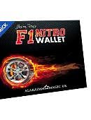 F1 Nitro Wallet Blue (Online Videos and Gimmick)