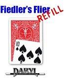 Fiedler's Flier Refill - red-back Ten of Spades Trick