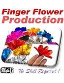 Finger Flower Production Trick