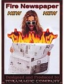 Fire Newspaper Trick
