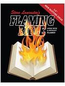 Flaming Bible Book