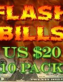 Flash Bill Ten Pack ($20)