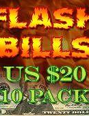 Flash Bill Ten Pack ($20)