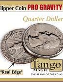 Flipper - Pro Gravity - Quarter Dollar Gimmicked coin