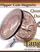 Flipper - Quarter Dollar (magnetic) Gimmicked coin