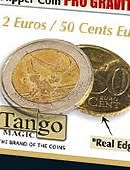 Flipper - Pro Gravity - 2 Euro/50 Euro Cents Gimmicked coin