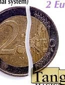 Folding Coin - 2 Euros - Premium Gimmicked coin