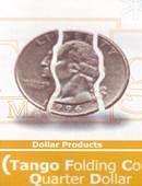 Folding Coin - Quarter Dollar - Premium Gimmicked coin