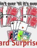 Four Card Surprise Trick