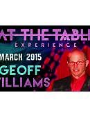 Geoff Williams Live Lecture Live lecture