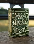 Green Monarchs Playing Cards Deck of cards