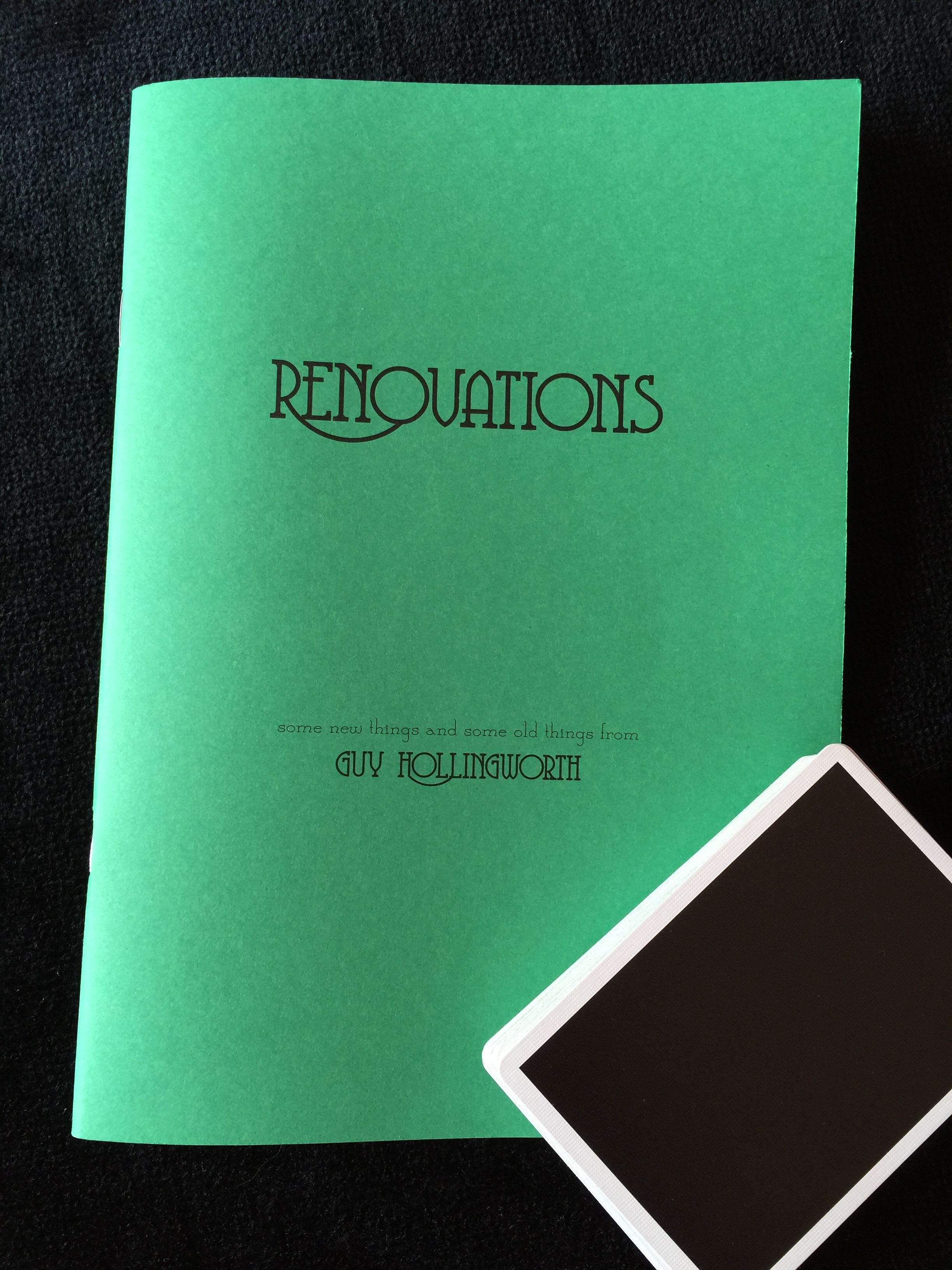 Guy Hollingworth's Renovations Book