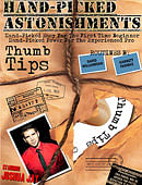 Hand-Picked Astonishments: Thumb Tips