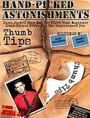 Hand-Picked Astonishments: Thumb Tips