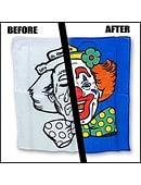 Happy/Sad Clown Silk Set Accessory