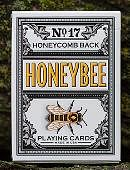 Honeybee V2 Playing Cards (Black) Deck of cards