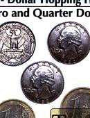 Hopping Half - 1 Euro/Quarter Dollar Trick