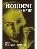 Houdini On Magic Book