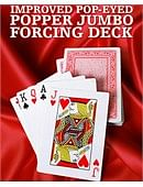 Improved Pop-Eyed Popper Jumbo Forcing Deck Deck of cards