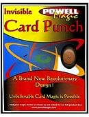 Invisible Card Punch Trick