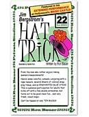 Jim Bergstrom's Hat Trick #22 Book