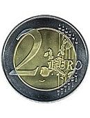 3in Jumbo Coin - 2 Euro  Gimmicked coin