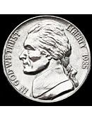 3in Jumbo Coin - American Nickel Gimmicked coin