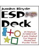 Jumbo Marked ESP Decks (Bicycle)