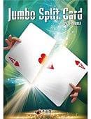 JUMBO Split Card Trick