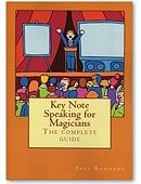 Keynote Speaking for Magicians Book