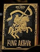 King Arthur Golden Knight Playing Cards Deck of cards