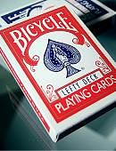 Lefty Deck (Red) Deck of cards