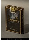Leonardo Gold Edition Deck of cards