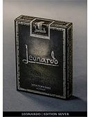 Leonardo Silver Edition Deck of cards