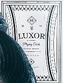 Limited Edition White Luxor Playing Cards Deck of cards