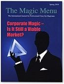 Magic Menu Book