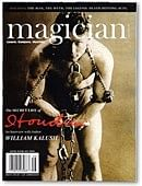 Magician Magazine HOUDINI Issue Magazine