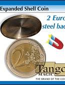 Expanded Shell - 2 Euro (magnetic) Gimmicked coin