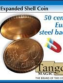 Expanded Shell - 50 Euro Cent (magnetic) Gimmicked coin