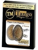 Magnetic Flipper Coin 2 Euro Trick