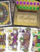 Mardi Gras Playing Cards (limited Edition) Deck of cards