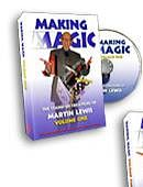 Martin Lewis's Making Magic - Volume 1 DVD