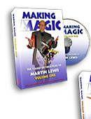 Martin Lewis's Making Magic - Volume 1 DVD