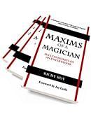 Maxims of a Magician Book