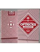 Mechanic Optricks  Deck - Red Deck of cards