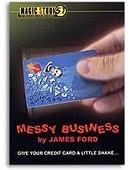 Messy Business Credit Card trick James Ford & Magic Studio Trick